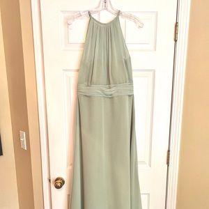 Bill Levkoff Green Bridesmaid Dress